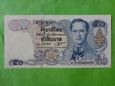 Thailand 50 Bath 1985-1996 (UNC) 全新 泰国50泰铢 1985-1996  3B 7573819
