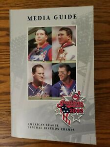 2002 Cleveland Indians Baseball Media Guide