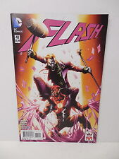 Flash DC #41 Joker Variant Cover Edition Comic Book 75th Anniversary Booth Art