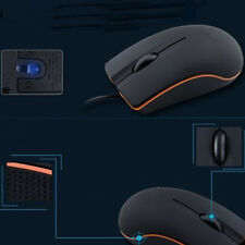 USB Mini 3D Wired Mouse Mice For Desktop PC Computer Apple HP Dell Lenovo