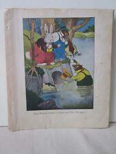 Vintage Print,JERRY MUSKRAT,Harrison Cady,Burgess,1945