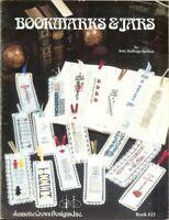 BOOKMARKS & JARS  - CROSS STITCH BOOKMARK LEAFLET