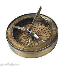 18th Century Sundial & Pocket Compass - Authentic Models - Co012A