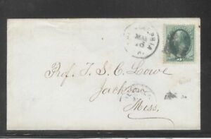 US 1870 Cover Addressed To Famous Civil War Aeronaut TSC Lowe Under Lincoln