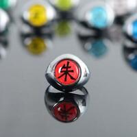 Anime Akatsuki Member's Rings Itachi Uchiha Zhu Yu Cosplay Ring Metal I3T7