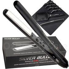 Silver Bullet Keratin 230 Titanium Plates Regular Size Hair Straightener