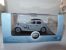 Oxford JSS004 1/43 O Scale JSS004 Jaguar SS 2.5 Saloon Lavender Grey