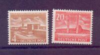 Berlin 1953 - Berliner Bauten - MiNr.112/113 postfrisch** - Michel 70,00 € (247)