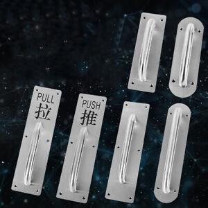 Door Handle Push Handle Pull Handle Stainless Steel Handle Brushed Fittings