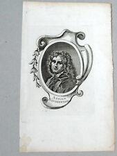 ADRIEN VAN DER WERFF Peintre HISTOIRE Néerlandais PORTRAIT Gravure AUBERT