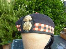 More details for wwi scottish royal scots fusiliers diced knitted glengarry / bonnet army