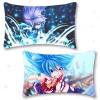 Anime Fairy Tail Lucy Dakimakura Hugging Pillow Case Cosplay 35*55CM#AL1881
