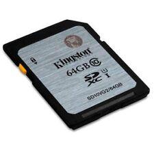 Memoria Kingston 64GB SDHC Class10 Uhs-i 45mb/s Read