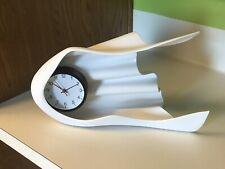 Antique Gilbert Eastlake Aesthetic Carved Walnut Mantle Clock & Alarm