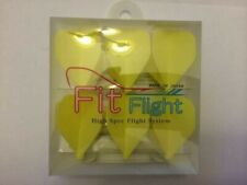 YELLOW COSMO FIT FLIGHTS PACK OF 6 STANDARD SHAPE