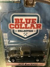 Greenlight Blue Collar  2017 Dodge Ram 2500 Pickup  Metallic Black