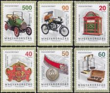 Hungary 2018 Postal History/Motorcycle/Car/Bike/Scales/Transport 6v s/a (hx1049)