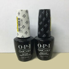 OPI Gel Color Top and Base Coat - 2 bottles x 15ml Fast Free Delivery SUPER SALE