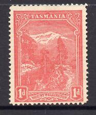 New listing Tasmania: 1d Red Pictorial Sg 240 Perf 12.5 Vc Wmk Sideways Mh