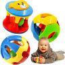 Greifling Rassel Babyrassel Babyspielzeug Ringrassel Greifring Spieltrainer J6V8