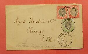 1903 SOUTHERN NIGERIA BONNY TO USA