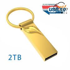 USB 3.0 2TB Flash Drives Memory Metal Flash Drives Pen Drive U Disk