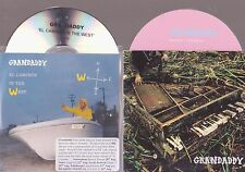 2 x  GRANDADDY -  HEWLETT'S DAUGHTER + el caminos in the west   - PROMO CDs
