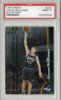 1998-99 Topps Finest Basketball Card #232 Jason Williams PSA Graded Mint 9