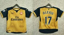 Arsenal London #7 Alexis Sanches Gunners Football Shirt Soccer Jersey Youth M
