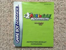MANUAL ONLY Mario Golf Advance Tour - Game Boy Advance GBA Instructions Only