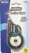 1pk Jumbo Correction Tape 5mm x 10M White Out Roller Home Office School Supply