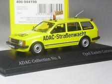 Klasse: Minichamps Opel Kadett D Caravan ADAC in 1:43 in OVP
