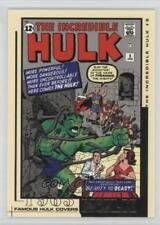 2003 Famous Covers #FC05 The Incredible Hulk #5 Non-Sports Card 2o7