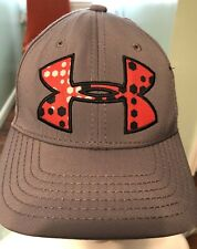 Gray Red Youth Girls Under Armour Baseball Cap Hat
