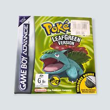 Pokémon Leaf Green for Nintendo Gameboy Advance - VGC/GBA/AUS/Genuine/Tested 🐙
