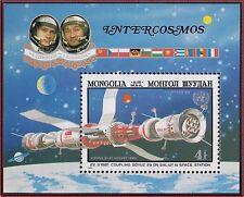 MONGOLIE BLOC N°87** Bf  Espace,  TB, 1982 MONGOLIA Space SHEET MNH