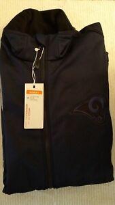 RAMS Women's Sports - Navy Blue Zip Jacket