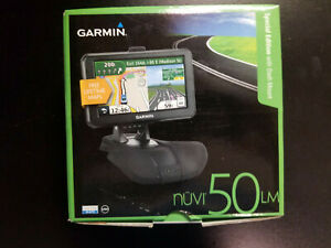 "Garmin Nuvi 50LM Navigator GPS System w/ Lifetime Maps 5"" Brand NEW in box!"