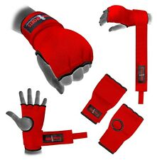 Hand Wrap Padded GEL inner boxing glove MMA Quick wraps Adult Large bandage