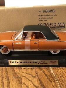 Fairfield Mint die cast 1963 chrysler turbine sku 92448