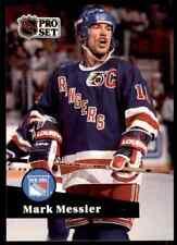 1991-92 Pro Set Hockey  NHL Mark Messier #439