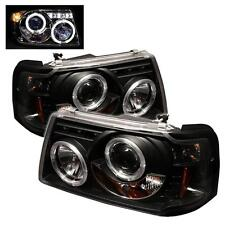 Projector Head Lights Lamps 1PC Ford Ranger 2001-2008 HALO LED - Black