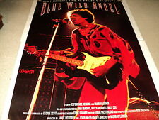 JIMI HENDRIX / BLUE WILD ANGEL / ORIG. U.S. 27 X 40 SINGLE SIDED POSTER