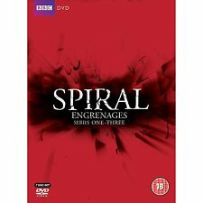new SPIRAL French TV SERIES 1 + 2 + 3  Engrenages REGION 2 CULT complete