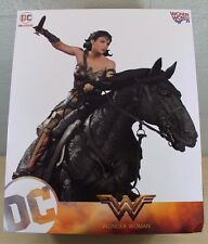 Wonder Woman on Horse Horseback Deluxe Movie Statue DC Comics 2500 NEW in BOX