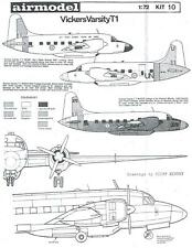 Airmodel Products 1/72 VICKERS VARSITY T.1 Vacuform Kit