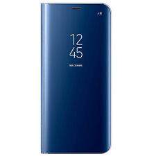 Genuine Samsung Galaxy S8+ Plus Clear View Flip-Case Blue - EF-ZG955CLEGWW
