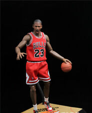 1/6 Scale Red Chicago Bulls Jersey 23 For Michael Jordan Enterbay Hot Toys Model