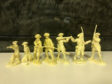 Barzso Last of the Mohicans French Infantry figures 54 mm French Indian War Lot