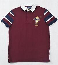 Polo Ralph Lauren Rugby St Andrews Kicker Bear Custom Slim Fit Shirt L & XL NWT
